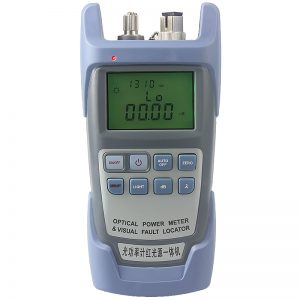 Free shipping All-in-one PC Fiber Optic Power meter with 10km Laser source Visual Fault locator 10mw