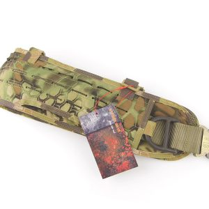 Laser-Cut PALS Padded Belt Rigger Belt Tactical Belt MOLLE Belt In Kryptek Mandrake+Free shipping(STG050419)