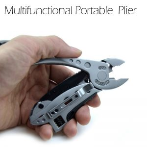 Multifunctional Adjustable Wrench Jaw Multi Tools Kit Survival Gear Pliers Screwdriver Portable Folding Pliers Outdoor Household