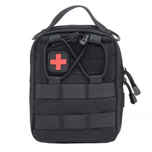 Survival kit Camping Emergency  Empty Bag Tactical Medical First Aid Kit Military Waist Pack Travel Tactical Molle Pouch Mini